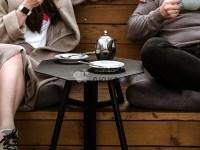 Изготовление Дизайнерских журнальных кофейных столиков Клевер Парк по проекту заказчика с доработкой