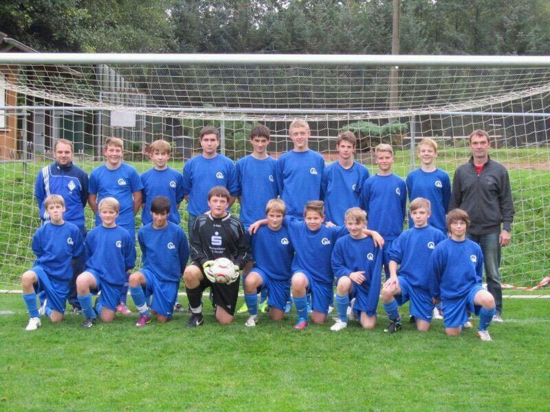 Die C-Jugend Saison 2012/2013