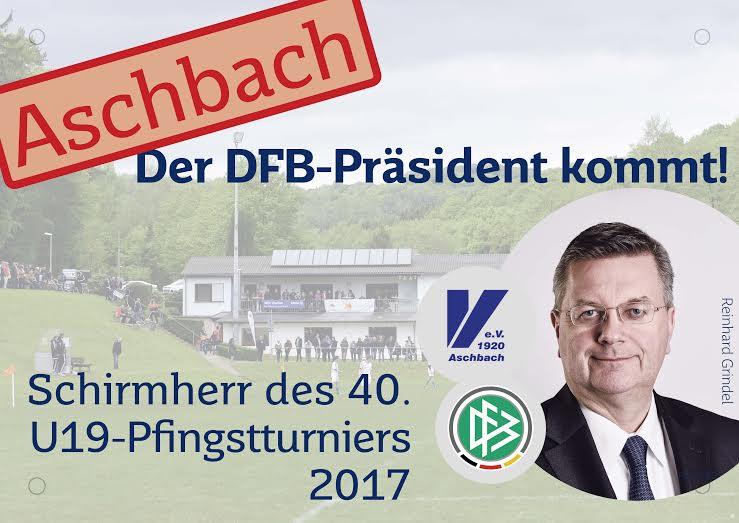 Der DFB-Präsident kommt!