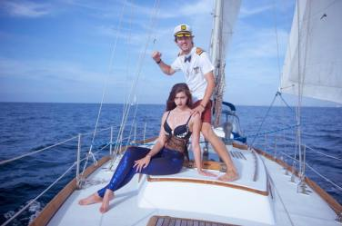 The captain and the siren he caught