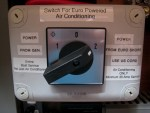 Main Air Conditioning System Switch