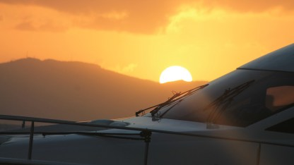 Sunset from Jost (courtesy of www.fraserrustics.com)