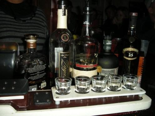 sampling rum