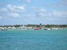 party at Bakers Haulover Inlet