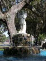 fountain at Vernon Square