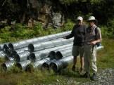 Stevie and Mike find a corrugated interloper nest