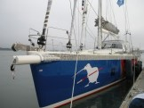 Kiwi Spirit, on the dock
