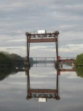Port Mayaca RR bridge, reflected