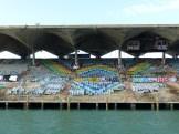 Marine Stadium, close up