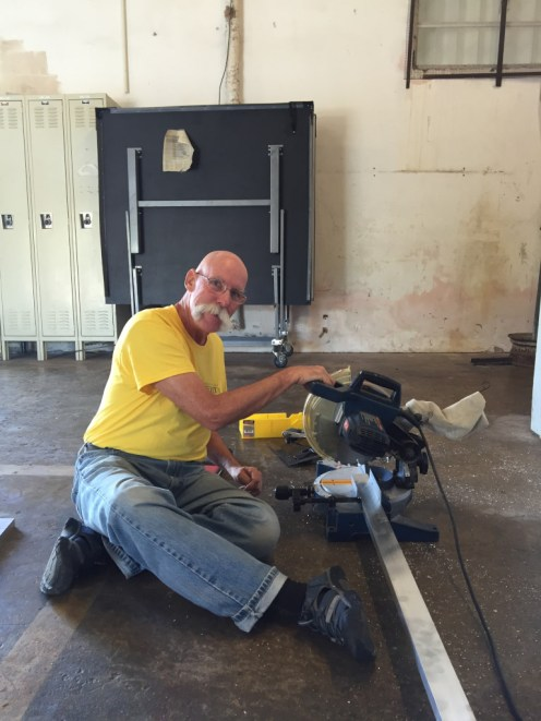 with compound miter saw