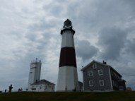 Montauk Light including Keepers' Cottage and watchtower