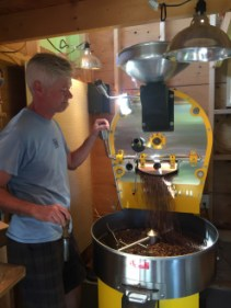 LS_20160719_105501 Todd demonstrating roaster at Chilmark Coffee Company
