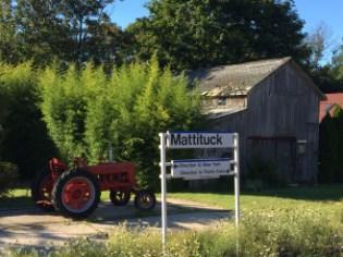 Long Island RailRoad sign, Mattituck