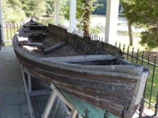 Polaris Whaleboat, Hercules Pavilion, Stony Brook
