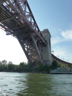 Hell Gate Bridge from below
