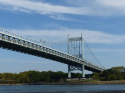 Triborough Bridge from East River