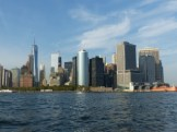 view to Lower Manhattan from Upper Bay