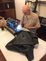 man and his (sewing) machine