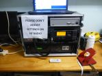 Sign on the HF Radio to prevent adjustments