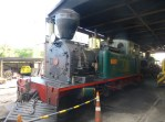 Steam engine Gabriel 1927, they use this to pull antique train cars for tourists