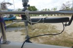 SeatMount - View to show mounting bracket under portside seat