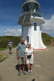 Lighthouse 1 - Steve and Judy at Cape Reigna
