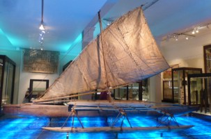 Sailing Waka - Smaller sailing waka