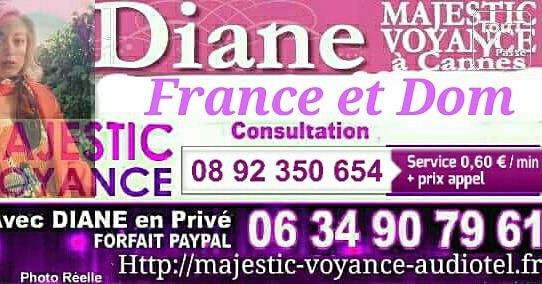 Diane voyante au téléphone ou à cannes