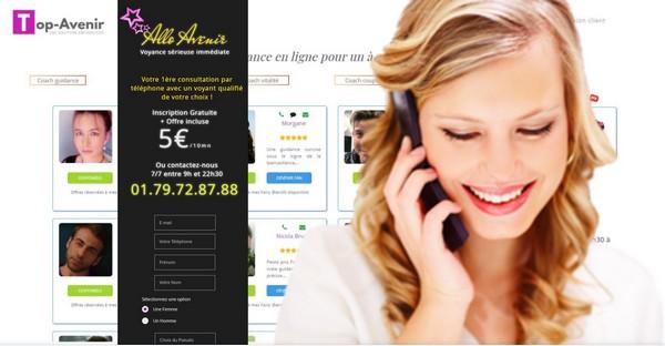Allo-avenir, une voyance professionnelle respectueuse de vos valeurs:  5€/10mn par Tel sur inscription