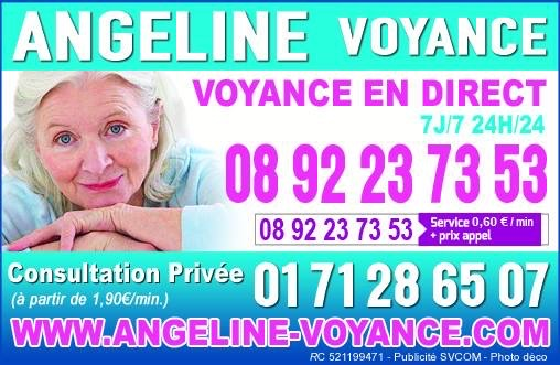ANGELINE MEDIUM, VOYANCE DANS LES TRADITIONS AU 08.92.23.73.53 (0,60€/mn)