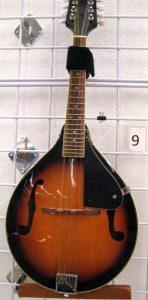 A mandolin for sale at St. Vincent de Paul's Fond du Lac.