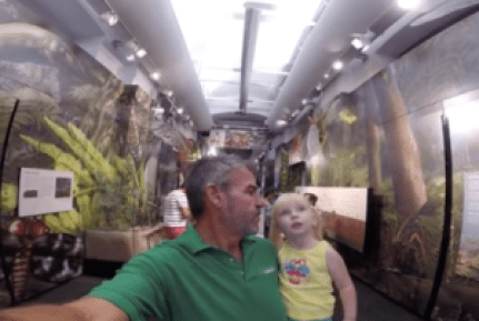 McKinlee and I at bug Museum