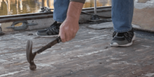 Tap test for Deck Delamination
