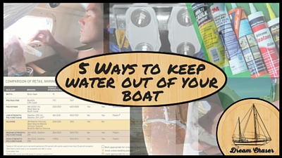 Content Aggregator Title Photo - 5 ways to keep water out