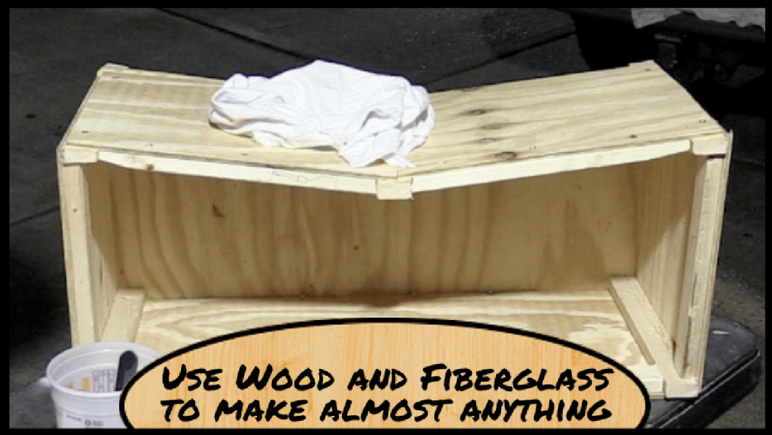 Featured Image - How to make a fiberglass deck box Part 1