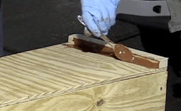 Smoothing Fillet with spoon