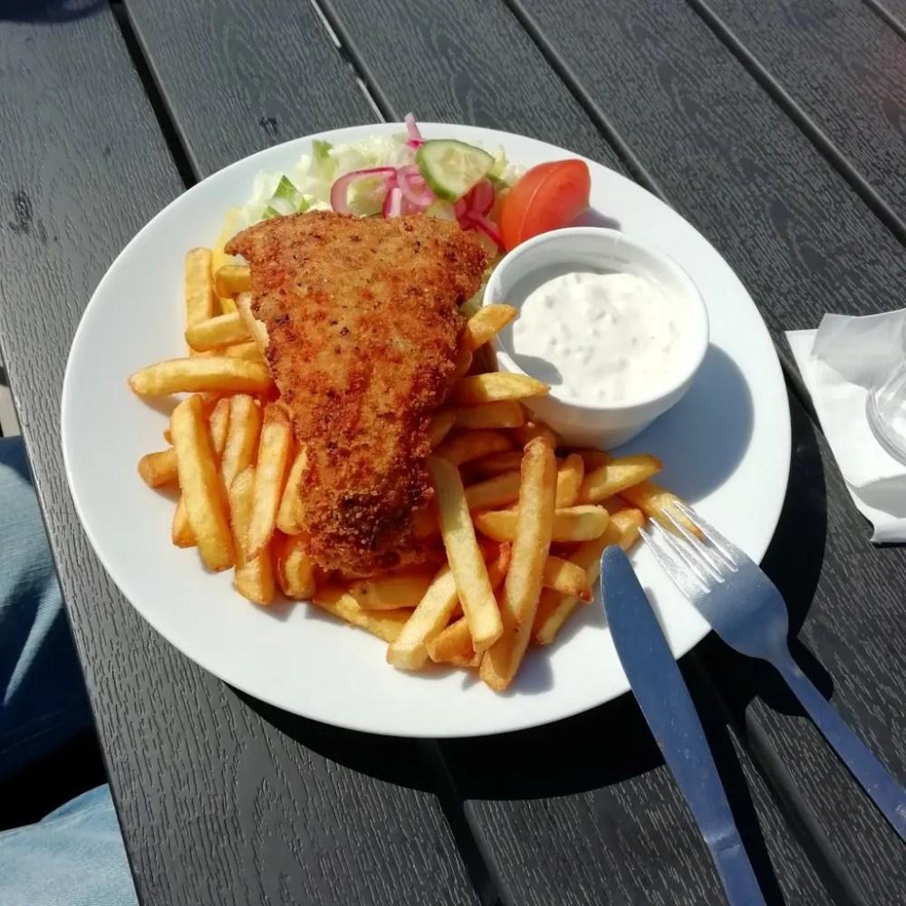 Fisk and chips med remouladsås - Svea y Pablo