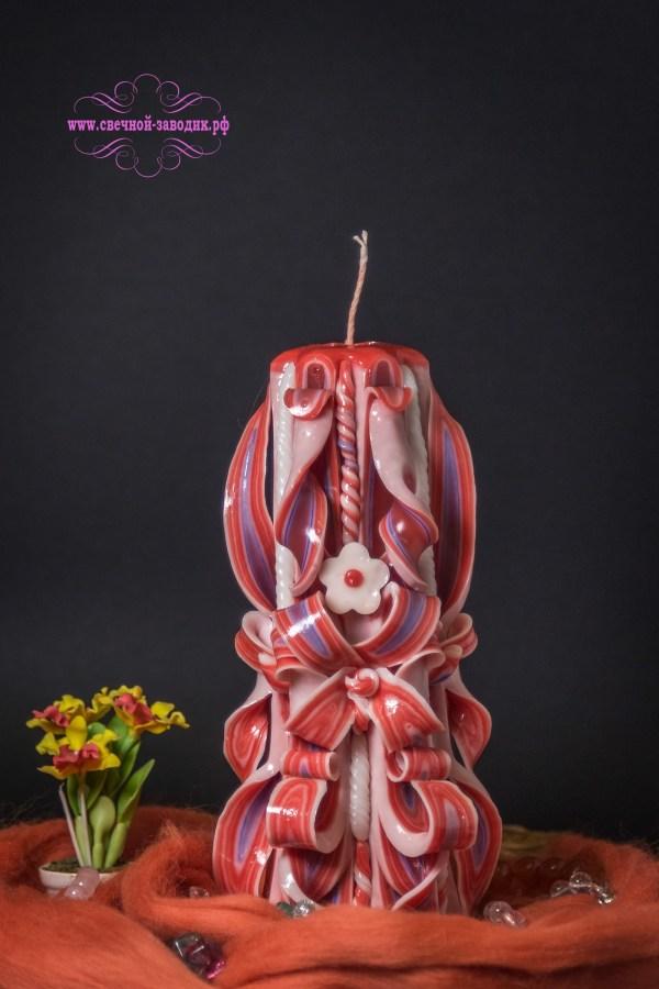 свеча резная высотой 22 см