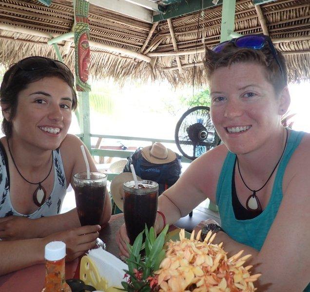 Sarah and Kristi