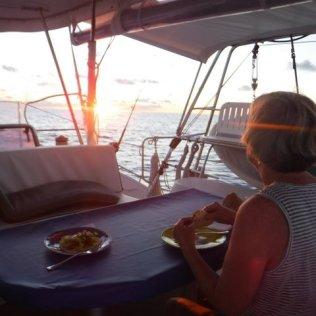 Mahi Tacos at sunset