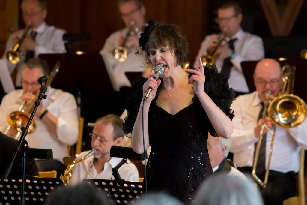 Eva Regnander framför Ella Fitzgerald med stor inlevelse och fingertoppskänsla. Foto: Morgan Grip