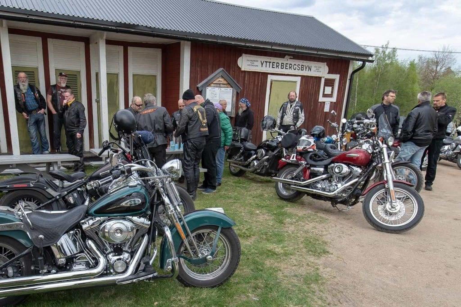 Första turen gick till Ytterberg för ett reportage om evenemanget. Foto: Morgan Grip