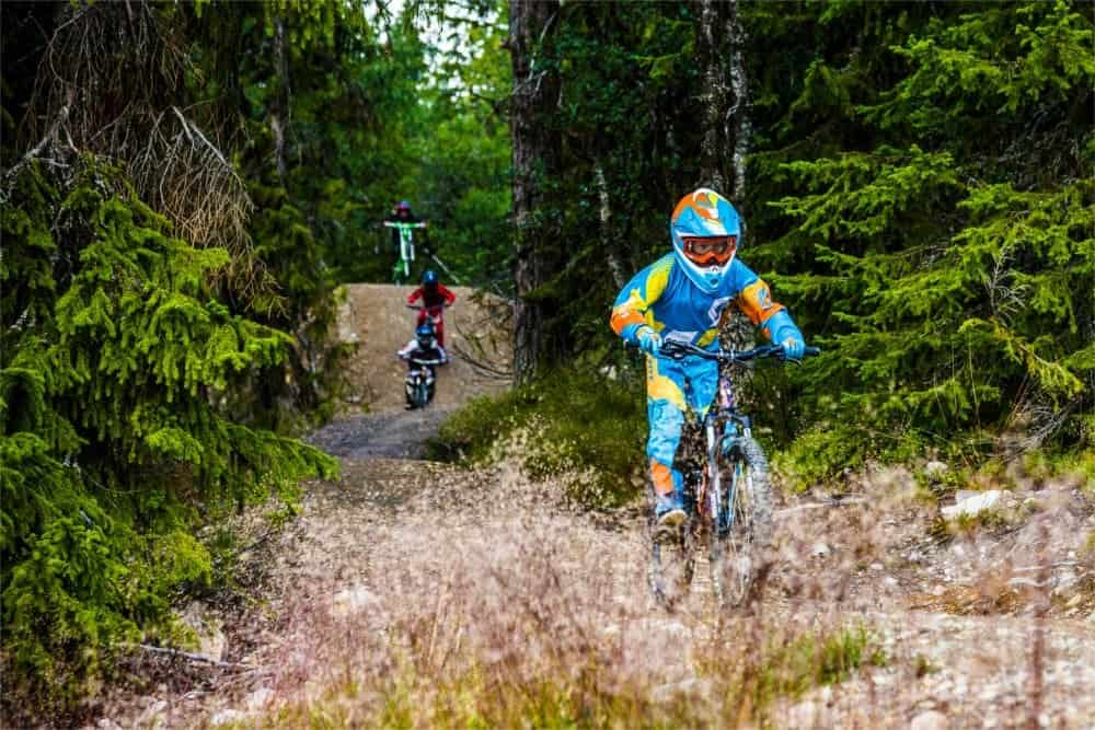 Snart sommarpremiär för Lofsdalen bike park