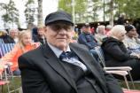Gunnar Hedin, ordförande i Svegs hembygdsförening. Foto: Morgan Grip
