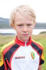 Assar Degselius, Svegs IK, hade även han en lyckad dag och kom på en fin tredjeplats i sin klass. Foto: Morgan Grip