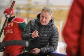 Svegs coach Rhonny Nilsson. Foto: Morgan Grip