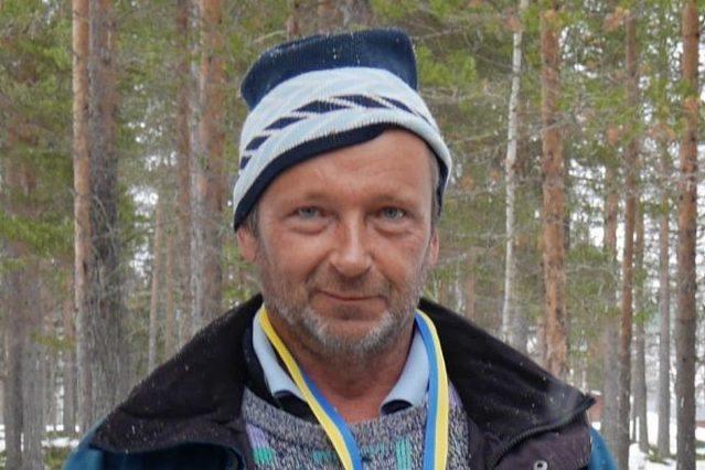 Lars Westlund från Herrö, svensk mästare i mormyskafiske. Foto: Privat