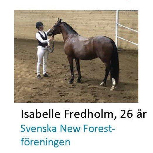 Isabelle Fredholm var en av frra rets mesta Young Handlerhellip