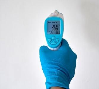 Bekontaktis kūno termometras