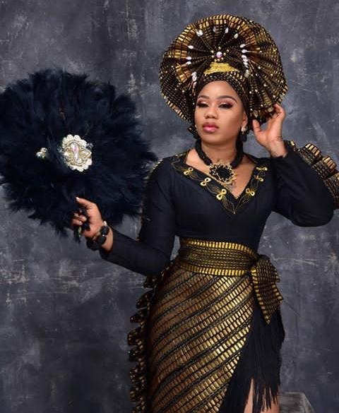 Toyin Lawani And The Black Transformer Number